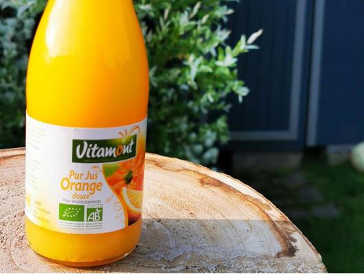 Pur jus d'oranges bio